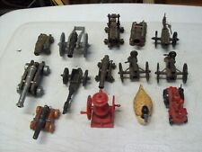 9 VINTAGE PENCIL SHARPENERS AND 5 CANNONS SHARPENERS ALL WORK