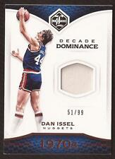 MW) 2016-17 Limited Decade Dominance Materials #11 Dan Issel Jersey 51/99