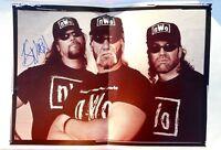 WCW Wrestling N.W.O. Catalog 1998 Hand Signed By Kevin Nash Rare WWF  WWE