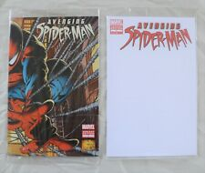 Avenging Spider-Man #1 Sealed Variant Lot Blank and Quesada NM 2012 Marvel!