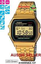 CASIO WATCH VINTAGE RETRO 80's A159WGEA-1 A159WG A159 A158 A168WG