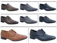 Para hombres Imitación Cuero Inteligente Diseñador Vestido Formal Suit Negro Zapatos de boda de confort