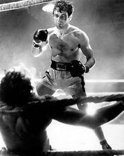 Raging Bull Robert De Niro Fight BW 10x8 Photo