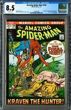 Amazing Spider-Man #104 (Marvel 1/72) CGC 8.5! Kazar Learns Spidey's Identity!