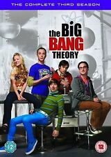 BIG BANG THEORY COMPLETE SERIES 3 DVD BOX SET Season All Episodes New Sealed UK