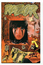 Razor #2 Nm Burn Everette Hartsoe's Signed Slick Cbx8A