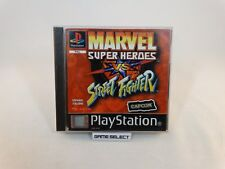 MARVEL SUPER HEROES VS STREET FIGHTER PLAYSTATION 1 PS1 PAL ITALIANO COMPLETO