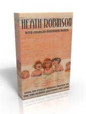 Heath Robinson - over 500 public domain images on DVD inc Charles Robinson bonus
