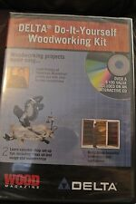 DELTA Do-It-Yourself Woodworking Kit Interactive CD Rom Projects Window Mac