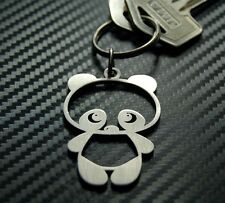 CUTE PANDA Baby Teddy Bear Cute Cuddly Zoo Toy China Keyring Keychain Key Fob
