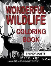 Wonderful Wildlife: Coloring Book (Paperback or Softback)