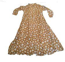 New OILILY WOMEN SLEEVELESS  VISCOSE DRESS Size LK (US 10)