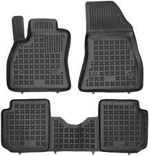 3-teilige schwarze Gummifußmatte für FIAT 500L/500L Trakking/500L Living