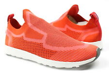 Native Mens AP Moc Knit Slip On Shoes Tourch Red Shell White 9 New