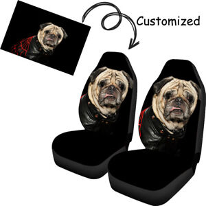 Custom Design Universal Car Seat Covers 2 PCS Print On Demand Your Own Image