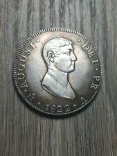 Coin eight real mexico 1822