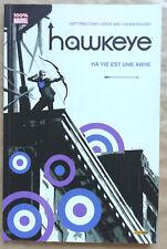 Hawkeye T 1 Ma vie est une arme M FRACTION, D AJA & J PULIDO éd Panini 2013 EO