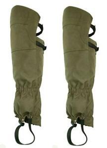Ripstop Waterproof Super Tough Extra Long Leg Briar Proof Hunting Gaiters Chaps