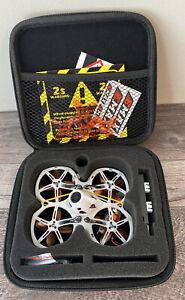 EMAX Tinyhawk II Indoor FPV Racing Drone w F4 Flight Control 16000KV Open Box