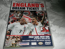 ENGLANDS DREAM TICKET DVD -  2002 FOOTBALL WORLD CUP QUALIFYING CAMPAIGN