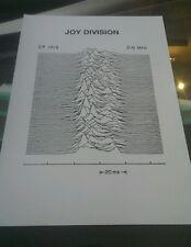 Joy Division rare promotional A3 super quality heavy canvas paper print poster