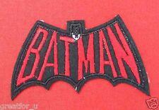 Patch BATMAN Cartoons for gift sew on bag,jacket handmade  diy
