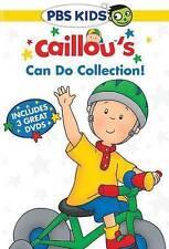 Caillou: Caillous Can Do Collection (DVD, 2015, 3-Disc Set) New