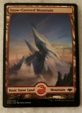 1x Snow-Covered Mountain Modern Horizons MTG Magic the Gathering