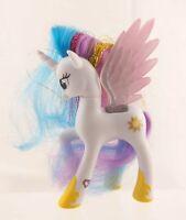 "My Little Pony G4 FiM Princess Celestia 4.75"" Brushable White Body Tinsel Hair"