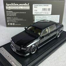 1/43 IG Model Ignition Toyota Century UWG60 Black IG1729