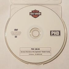 Official Harley-Davidson service training PHD DVD 168.04 Sportster Overview
