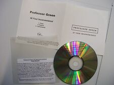 PROFESSOR GREEN At Your Inconvenience (3 Versions) UK CD PROMO Dubstep BARGAIN