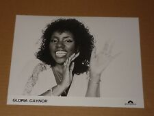 Gloria Gaynor 1979 10 x 8 Polydor Records Publicity Photo (2)