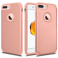 Hard Back for iPhone X 10 For iPhone 6 6S 7 Plus Armor Case Hybrid Rubber Cover