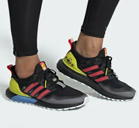 """Adidas Ultra Boost OG Shoes """"Black-Multi"""" Men's Trainers All Sizes Limited Stock"""