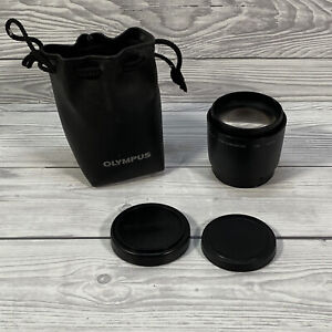 Olympus IS/L Lens C-210 H.Q Converter 1.9x Ø 52mm Screw Mount W/ Pouch & Covers