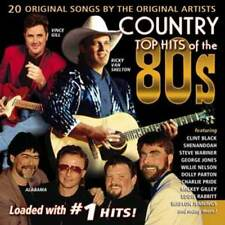 Country Top Hits of The 80's NEW CD