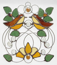Yellow Stained Glass Art Glassware