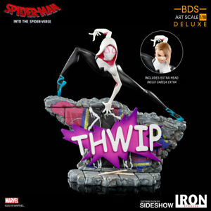 Iron Studios Marvel Spider-Man Into the Spider-Verse Gwen Stacy Art Scale Statue