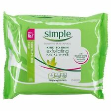 Simple Kind to Skin Exfoliating Wipes (25 Wipes)