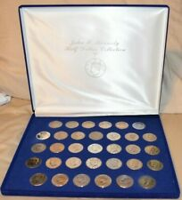 John F. Kennedy  American Historic Society  Half Dollar  34 Coin Set (1964-1997)