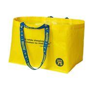 IKEA Yellow Bag 75th Anniversary VARLDSBRA Storage Laundry Shopping Collectible