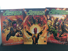 Green Lantern - The Sinestro Corps War / Tales of Sinestro Corps 3 Book Set