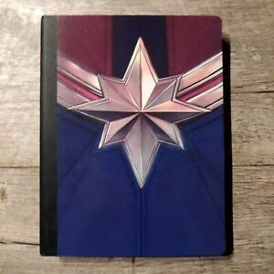Captain Marvel Composition Book/Notebook/Journal 100 Wide Ruled Sheets