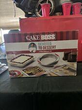 5 Piece Cake Boss Bakeware Set Cookie Square Round Cake Pans
