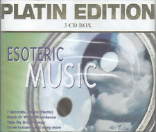 Esoteric Music: Platin Edition by Esotera Sounds (3 CDs, 2001) 48 Covers/Swiss