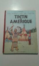 Tintin historique - Tintin en Amérique - B3 1949