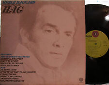 """Merle Haggard - HAG  (lime Capitol ST-735) (with """"Jesus, Take a Hold"""")"""