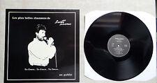 """DISQUE VINYLE 33T LP MUSIQUE / LUCIEN LLAMAS """"EN PUBLIC"""" PRIVATE PRESS TBE"""