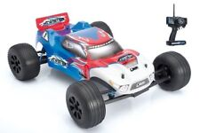 LRP S10 Elettrico Truggy Twister 1:10 2,4ghz Rtr Rosso-Blu 120511 Set Completo